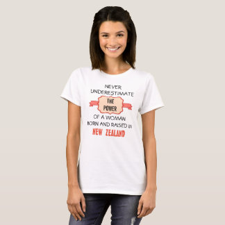 Born and raised in New Zealand T-Shirt