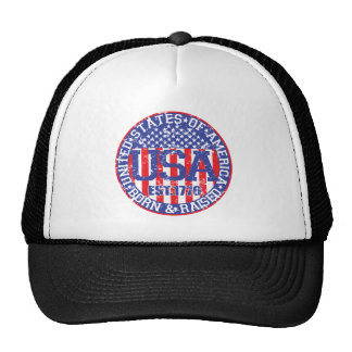 Born and Raised in the USA Cap