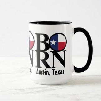 BORN Austin Texas 15oz Coffee Mug