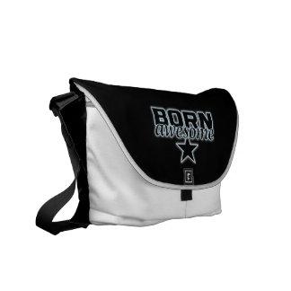 Born Awesome messenger bag
