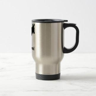 Born & Bred Donkey Logo spill proof travel mug
