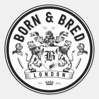 born & bred stickers