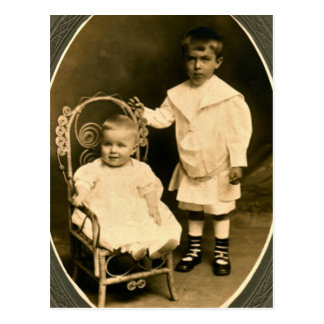 Born Brothers, Forever Friends Postcard