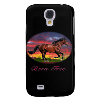 Born free horse art galaxy s4 covers