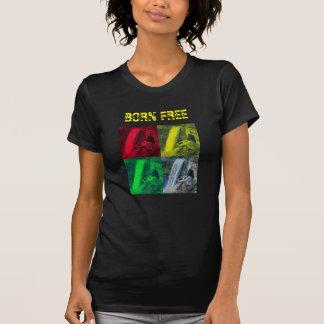 Born Free, OPL rasta color - Ladies'... 4 Lori :) T-Shirt