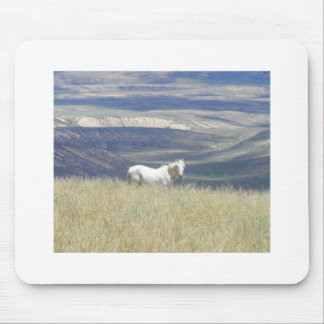 Born Free Wild Mustang Horse Mousepad