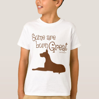 Born Great, brown T-Shirt