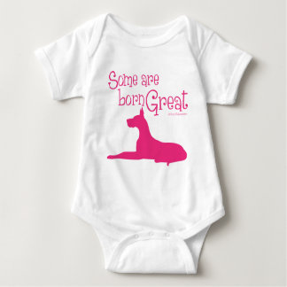 Born Great, melon Baby Bodysuit