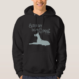 Born Great, silver Hoodie