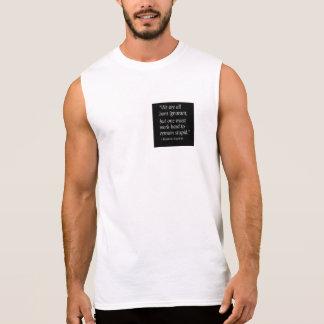 Born ignorant sleeveless t-shirt