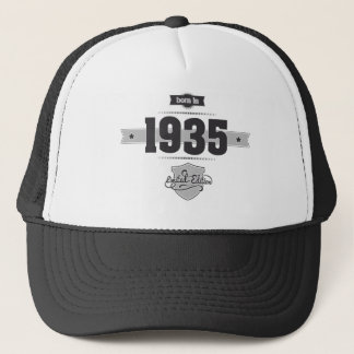 Born in 1935 (Dark&Lightgrey) Trucker Hat