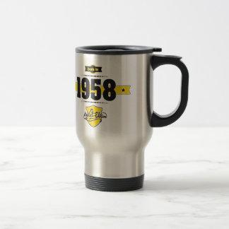 Born in 1958 travel mug