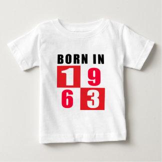 Born In 1963 Birthday Designs Shirt
