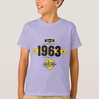 born in 1963 (choco&yellow) T-Shirt
