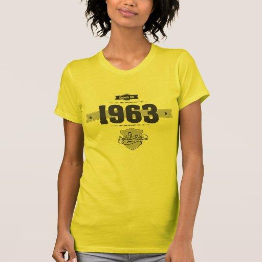 Born in 1963 (Dark&Lightgrey) Tee Shirts