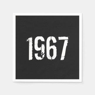 Born in 1967 Birthday Paper Napkin
