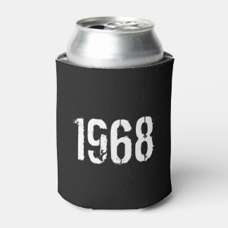 Born in 1968 Birthday Year Can Cooler