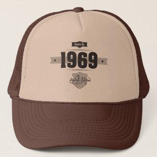 Born in 1969 (Dark&Lightgrey) Trucker Hat