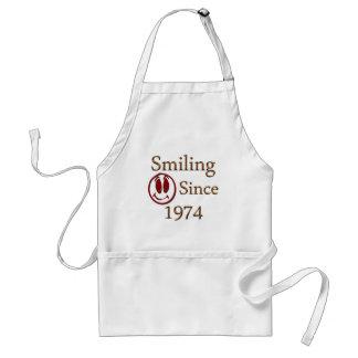 Born in 1974 standard apron