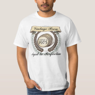 Born in 1975 Vintage Brew, 40th Birthday Gift T-Shirt