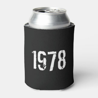 Born in 1978 40th Birthday Can Cooler