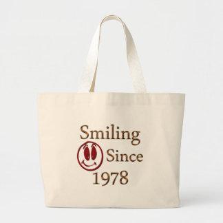 Born in 1978 jumbo tote bag