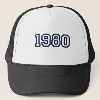 born in 1980 trucker hat