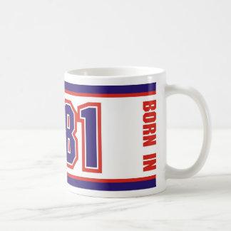 Born In 1981 Coffee Mug