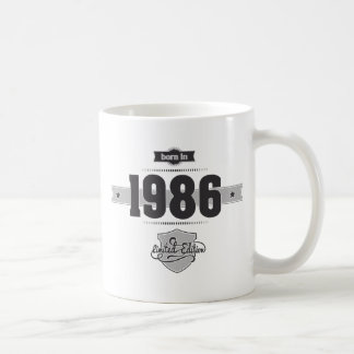 Born in 1986 (Dark&Lightgrey) Coffee Mug
