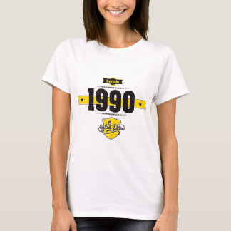 born in 1990 (choco&yellow) T-Shirt