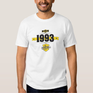 Born in 1993 t shirts