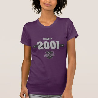 Born in 2001 (Light&Darkgrey) T-Shirt