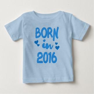 Born in 2016 Baby Boy T-shirt