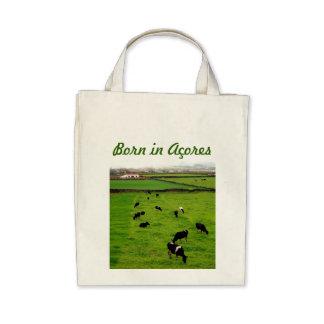 Born in Acores Tote Bag