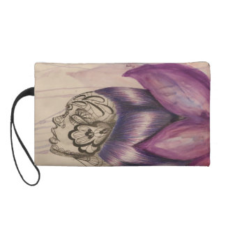 Born in Bloom Wristlet Clutches
