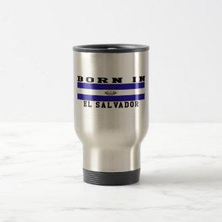 Born In El Salvador Coffee Mug