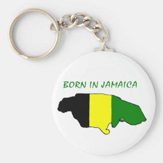 Born In Jamaica Keychain