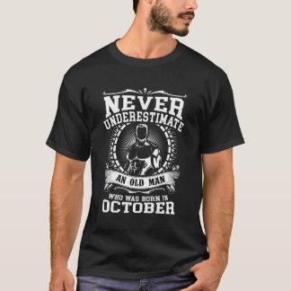 Born In October T-shirt