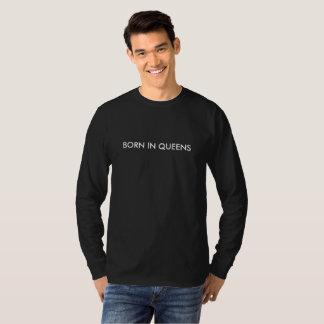 Born in Queens Mens LS T-Shirt