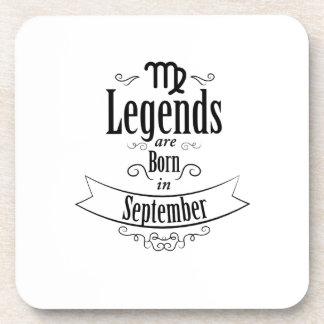 Born In September Virgo Zodiac Birthday Gift Coaster