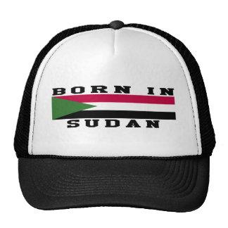 Born In Sudan Trucker Hats
