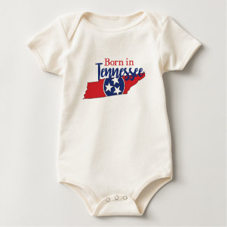 Born in Tennessee Baby Bodysuit