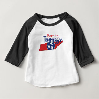 Born in Tennessee Baby T-Shirt