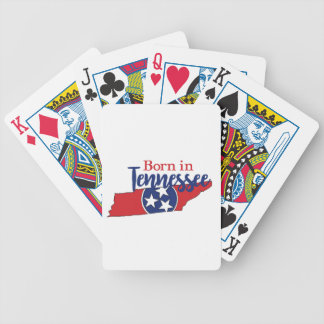 Born in Tennessee Bicycle Playing Cards