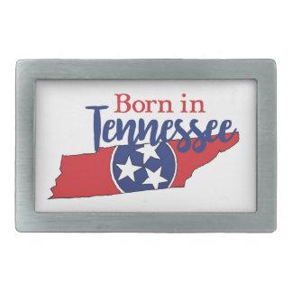 Born in Tennessee Rectangular Belt Buckle