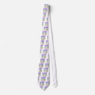 Born In The 1940 Tie