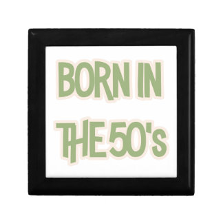 Born In The 50's Gift Box