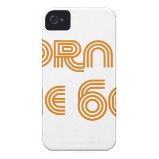 Born In The 60's Case-Mate iPhone 4 Cases