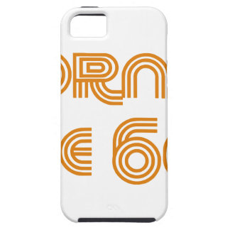 Born In The 60's Tough iPhone 5 Case