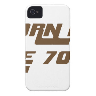Born In The 70's Case-Mate iPhone 4 Cases
